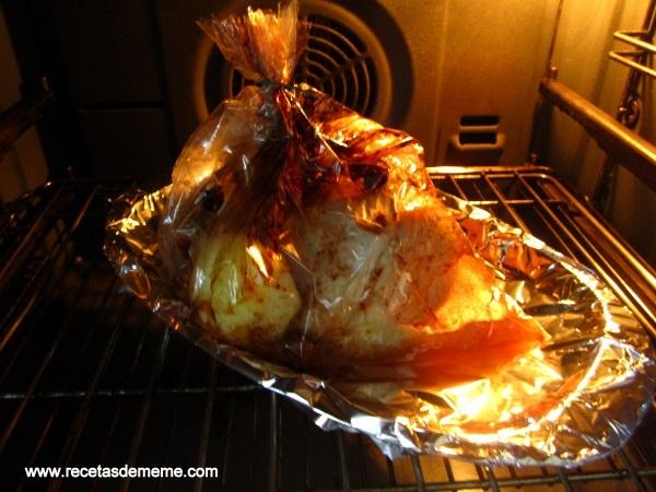 Lomo de cerdo al horno