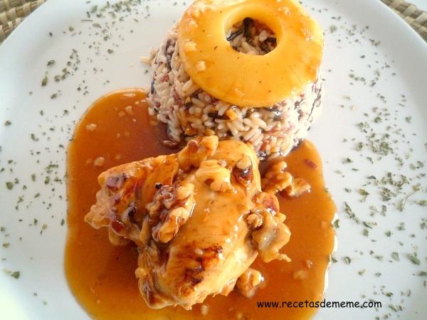 pollo-con-salsa-de-piña-y-miel (9)