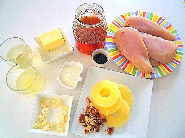 pollo-con-salsa-de-piña-y-miel