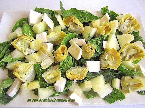 Ensalada-de-espinacas-y-alcachofas (3)