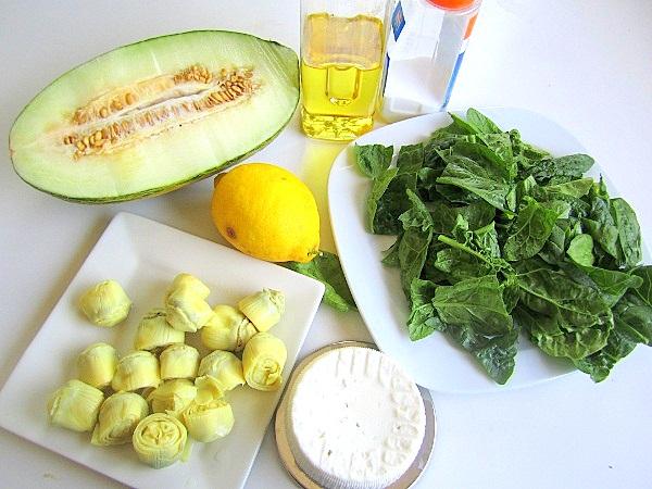 Ensalada-de-espinacas-y-alcachofas